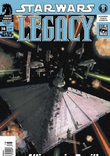 Okładka książki Star Wars: Legacy #36