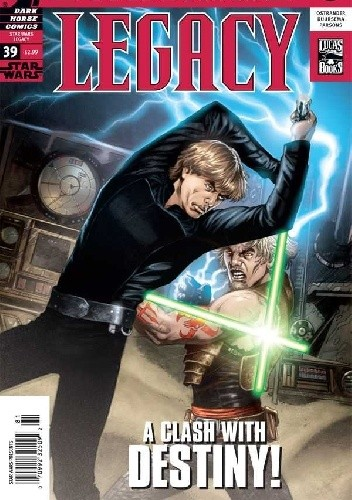 Okładka książki Star Wars: Legacy #39