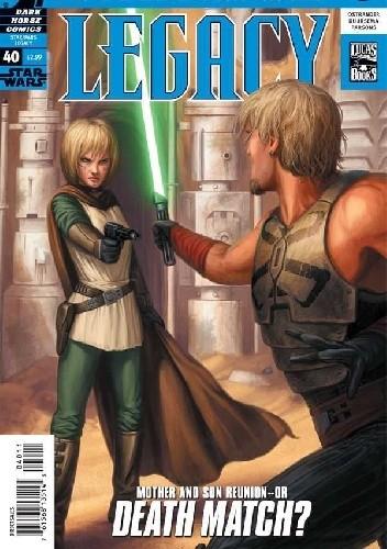 Okładka książki Star Wars: Legacy #40