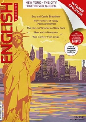 Okładka książki English Matters: New York 19/2016 (Wydanie specjalne)
