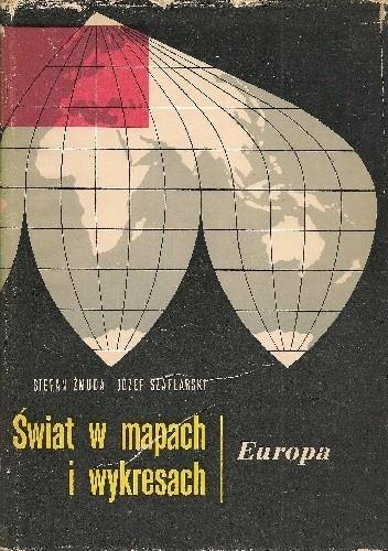 Okładka książki Świat w mapach i wykresach. Europa
