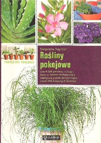 Okładka książki Rośliny pokojowe. Podręczny poradnik