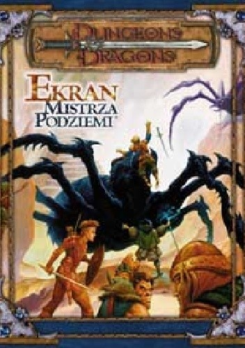 Okładka książki Ekran Mistrza Podziemi