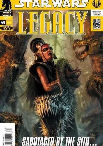 Okładka książki Star Wars: Legacy #45