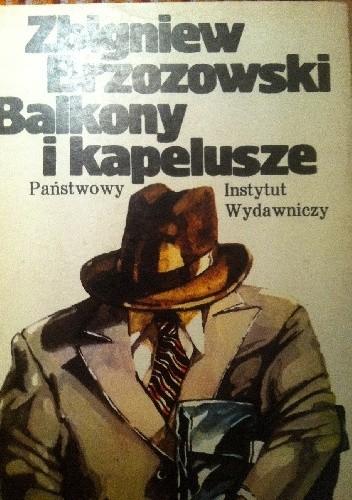 Okładka książki Balkony i kapelusze