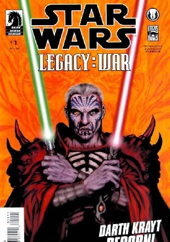 Okładka książki Star Wars: Legacy - War #1