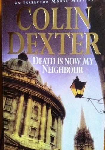 Okładka książki Death is now my neighbour