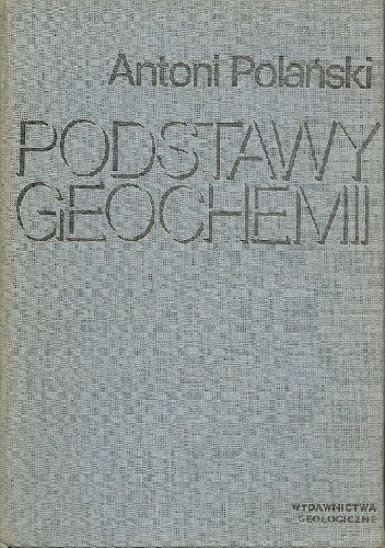 Okładka książki Podstawy geochemii