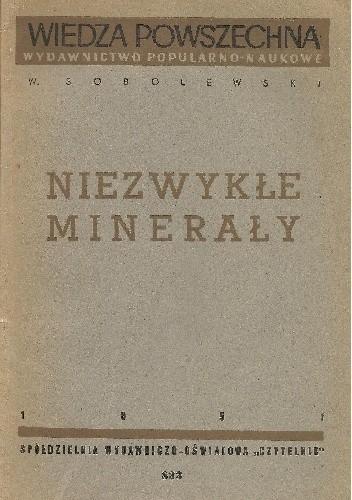 Okładka książki Niezwykłe minerały