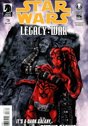 Okładka książki Star Wars: Legacy - War #3