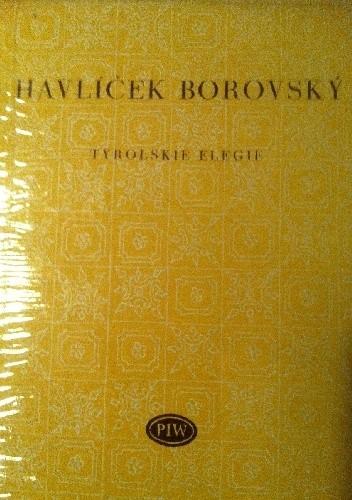 Okładka książki Tyrolskie elegie