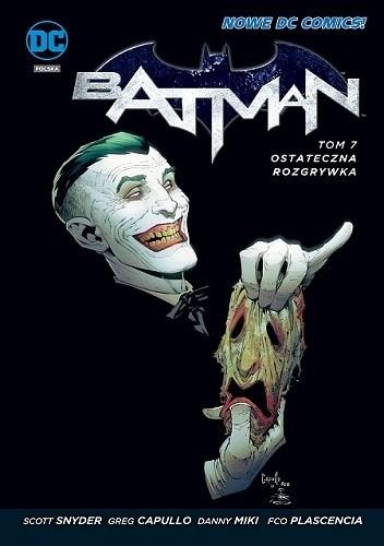 Okładka książki Batman: Ostateczna rozgrywka