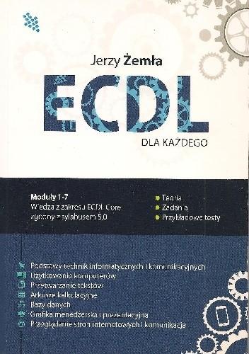 Okładka książki ECDL Core dla każdego