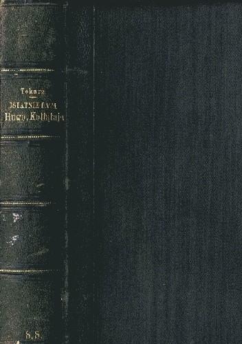Okładka książki Ostatnie lata Hugona Kołłątaja t. 1 i 2