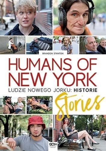 Okładka książki Humans of New York: Stories. Ludzie Nowego Jorku: Historie