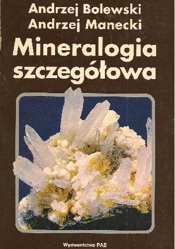 Okładka książki Mineralogia szczegółowa