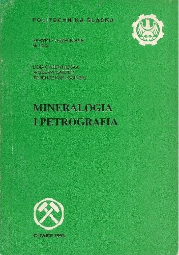 Okładka książki Mineralogia i petrografia