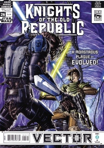 Okładka książki Star Wars: Knights of the Old Republic #26