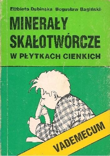 Okładka książki Minerały skałotwórcze w płytkach cienkich