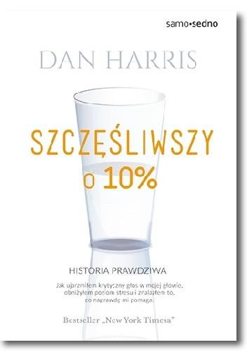 Okładka książki Szczęśliwszy o 10%