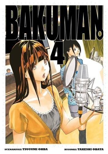 Okładka książki Bakuman #4