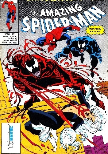 Okładka książki The Amazing Spider-Man 1/1996