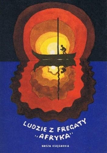 """Okładka książki Ludzie z fregaty """"Afryka"""""""
