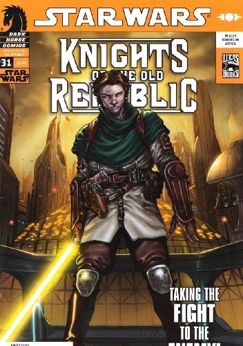 Okładka książki Star Wars: Knights of the Old Republic #31
