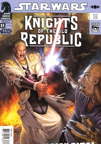Okładka książki Star Wars: Knights of the Old Republic #35