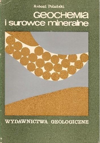 Okładka książki Geochemia i surowce mineralne
