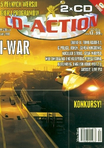 Okładka książki CD-Action 2/98