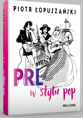 Okładka książki PRL w stylu pop