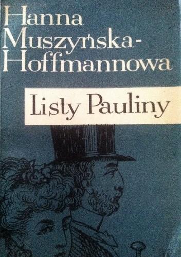 Okładka książki Listy Pauliny