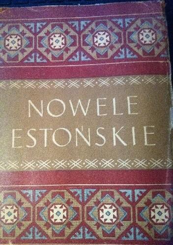 Okładka książki Nowele estońskie
