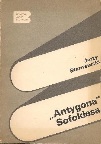 """Okładka książki """"Antygona"""" Sofoklesa"""