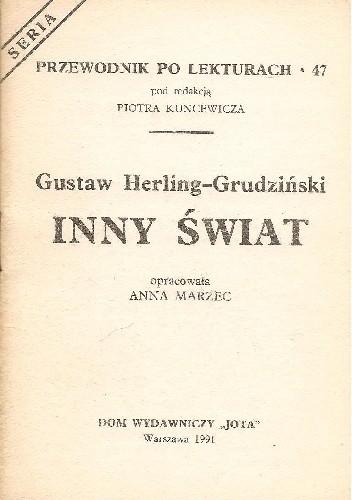 Okładka książki Gustaw Herling-Grudziński. Inny świat
