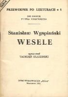 Stanisław Wyspiański. Wesele