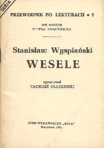 Okładka książki Stanisław Wyspiański. Wesele