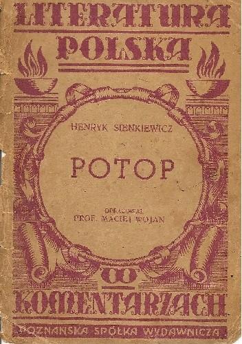 Okładka książki Henryk Sienkiewicz. Potop