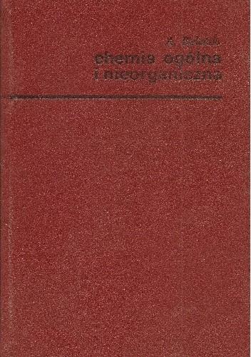 Okładka książki Chemia ogólna i nieorganiczna