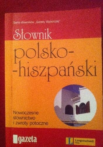Okładka książki Słownik polsko-hiszpański
