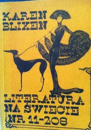 Okładka książki Literatura na świecie: Karen Blixen  1988 nr 11 (208)