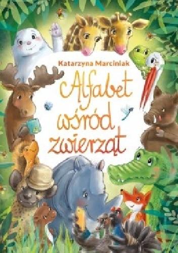 Okładka książki Alfabet wśród zwierząt