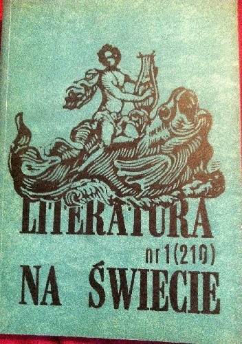 Okładka książki Literatura na świecie nr 1/1989 (210)