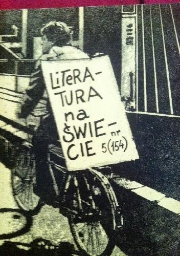 Okładka książki Literatura na świecie nr 5/1984 (154) Literatura irlandzka