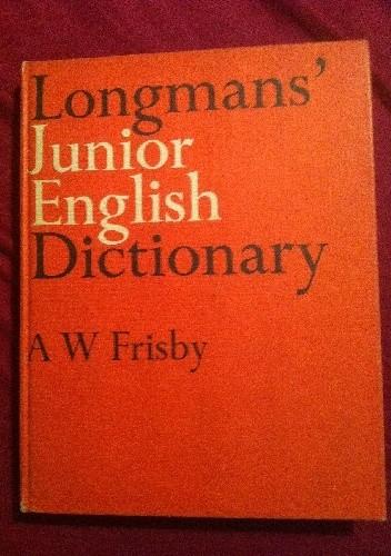 Okładka książki Longmans` Junior English Dictionary