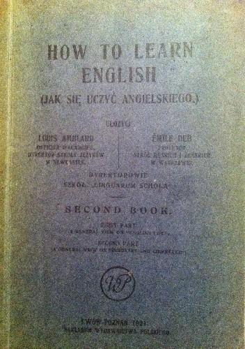 Okładka książki How to learn English