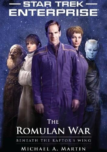 Okładka książki Star Trek: The Romulan War - Beneath the Raptor's Wing