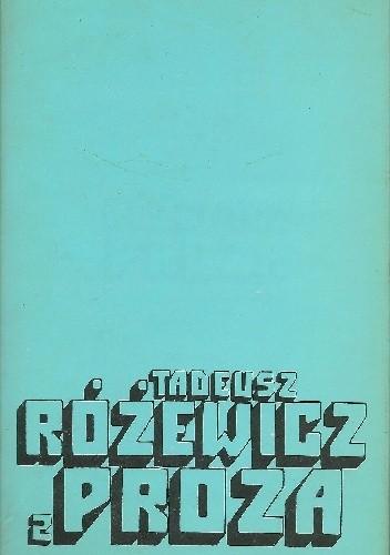 Okładka książki Proza. Tom 2
