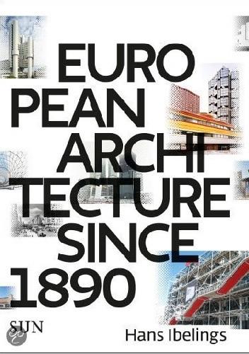 Okładka książki European Architecture since 1890